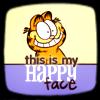 garfield happy face