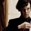 Sherlock sitting