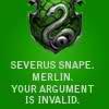 Anastacia: Snape Merlin