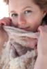 кружевной шарфик