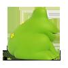резиновая игрушка, резиновая жаба, резиновая лягушка