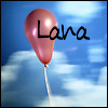 Lana: floating red balloon