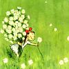 spring: flowergirl