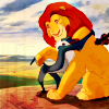 lion king hug