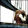 potc: jack/elizabeth: pirates kiss