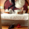 natural_blue_26: Wedding ~ Jumping on the bed