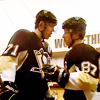 tried to eat the safe banana: Hockey Geno/Sid Good Luck