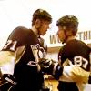 tried to eat the safe banana: Hockey Geno/Sid Good Luck