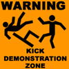 Kick demonstration zone