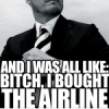 bought the airline