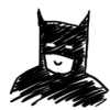 Scribble Batman