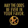 Hunger Games Odds in Favor dark