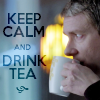 Sherlock/John and tea