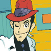 Lupin with a hat