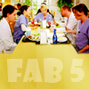 dess: [Grey's Anatomy] Numbers: Fab five.