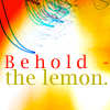 лимон в игре