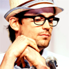 a rearranger of the proverbial bookshelf: Matt Bomer - dorky