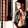 Darren Criss chest in flannel