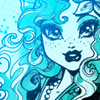 Monster High - blue Lagoona