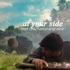 at your side