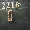 GreenKey: fan|sherlock - 221B door