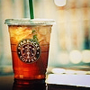 Christina: ice tea starbucks