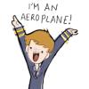 cabin pressure, aeroplane, martin creiff