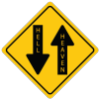 Two way road