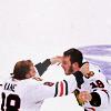 tiki b.: Hockey Kaner/Tazer cup hug