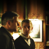 Morgan Stuart: Sherlock/John & Lestrade/John looking