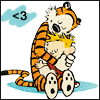 passing_through: calvin and hobbes <3