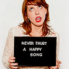 never trust a happy song, Hannah Hooper