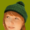 AUTUMN - woolhat center green