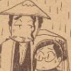 Shunsui and Nanao in the rain