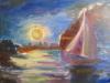 night, my painting