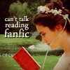 Can't Talk Reading Fanfic