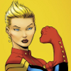 captain marvel, can't hear you --too awesome, ms. marvel
