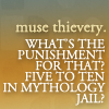 castle; quote muse thievery