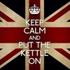 Christina: keep calm and put the kettle on
