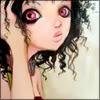 black curly hair [art girl]