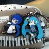 Miku, Kaito, KaiMiku, Vocaloid