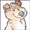 Cartoony Ryder pup