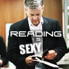 Lestrade - reading is sexy