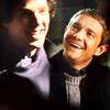 Sherlock - S and J smile