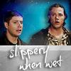 [Sam'n'Dean] slippery when wet
