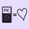 """ipod """"fic = <3"""""""