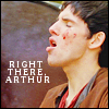 Merlin right there Arthur