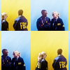 [leverage] Parker x Hardison blue/yellow