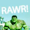 ThunderingLunie: Hulk rawr