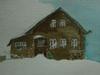 дом на ветру